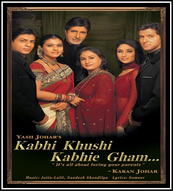 Kabhi Khushi Kabhie Gham Karan Johar: Most Acclaimed Indian Films Which Enhanced Family Ideology