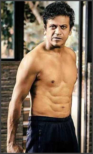 sandalwood celebrity thinks with best six pack physique
