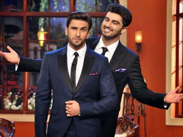 Image result for ranveer singh hosting award show