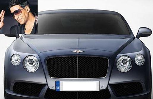 top 10 filmstars who own a bentley car