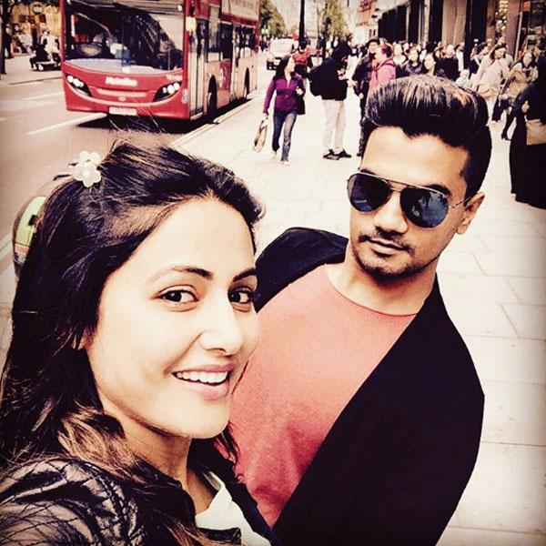 Image result for hina khan and rocky jaiswal hd images