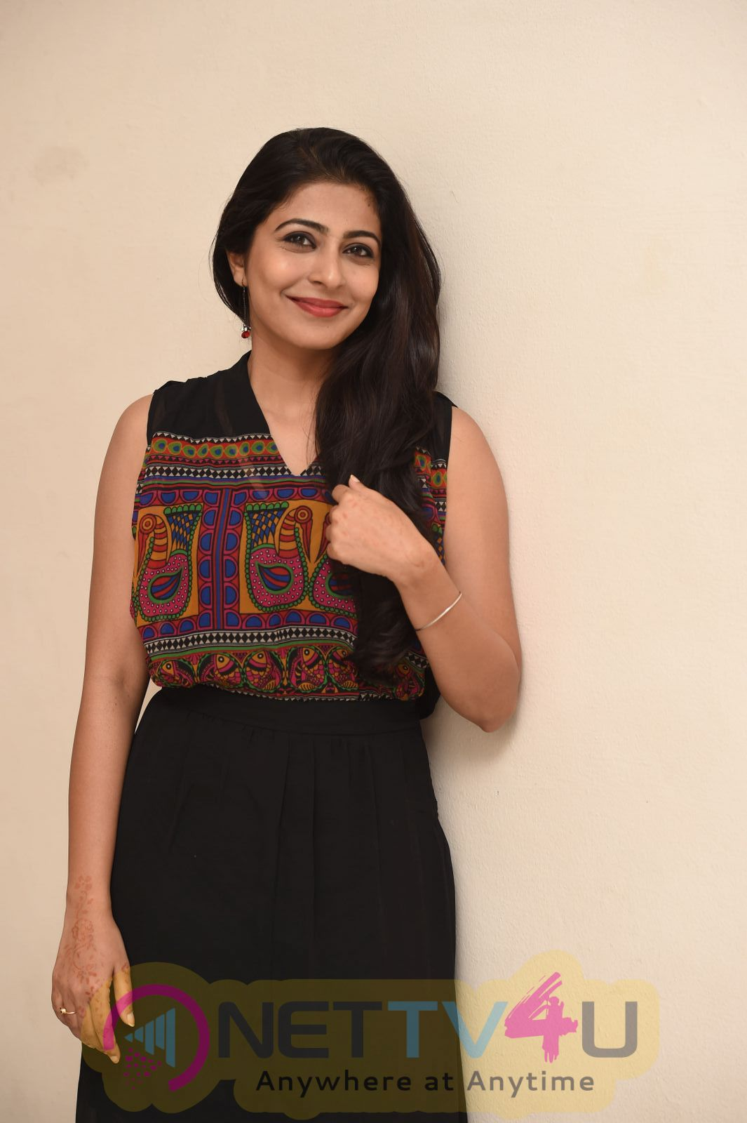 Actress Leona LLshoy Beautiful Images At Pilla Rakshasi Movie Music Launch Telugu Gallery