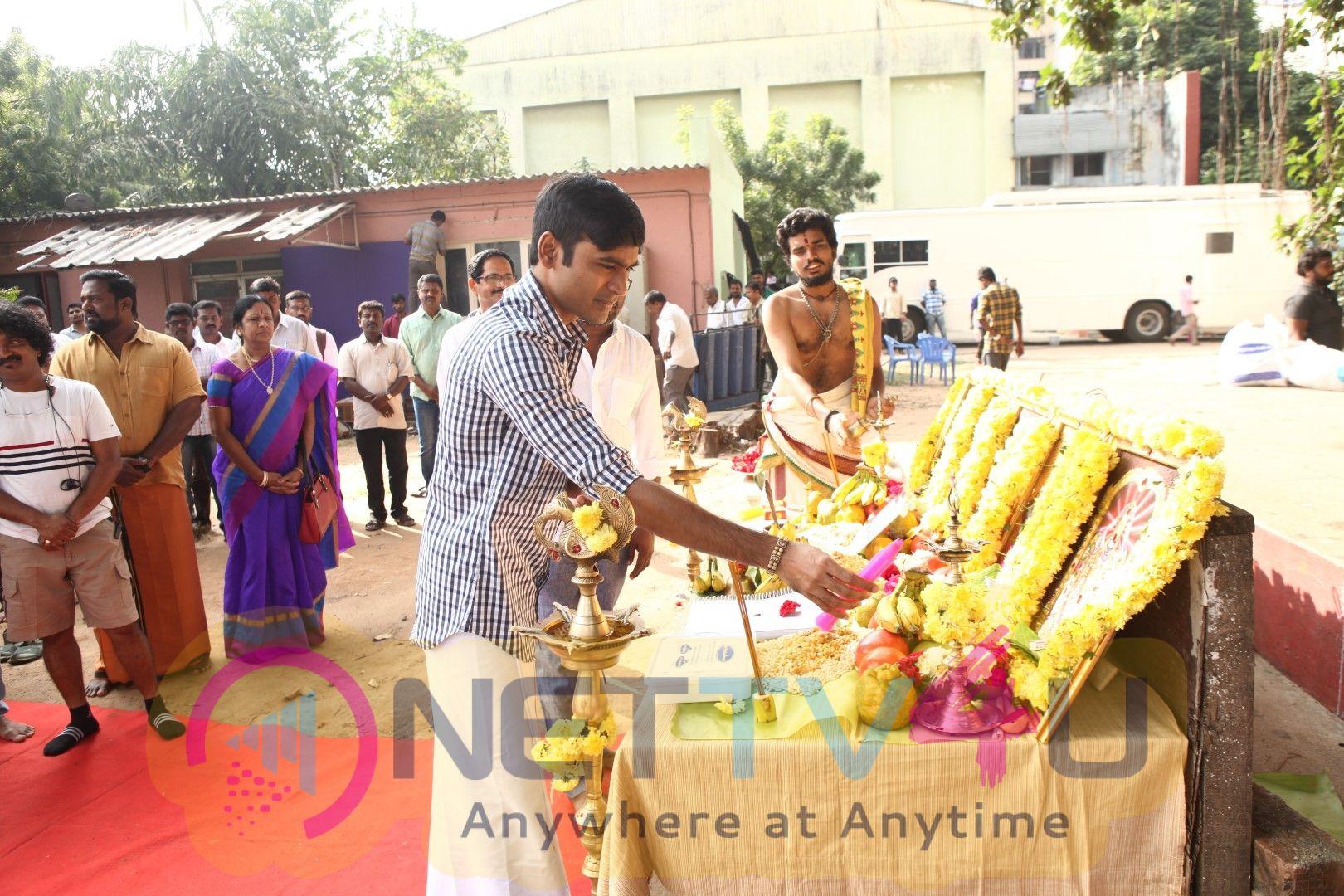 Maari 2 Movie Pooja Pics Tamil Gallery