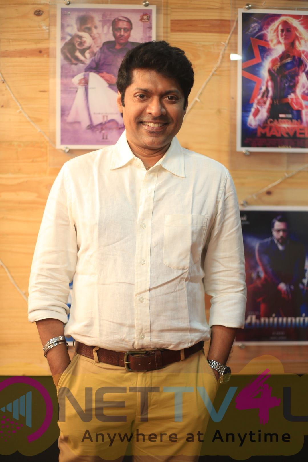 Director Magizh Thirumeni Exclusive Interview Images Tamil Gallery