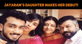 Jayaram's Daughter Makes Her Debut!
