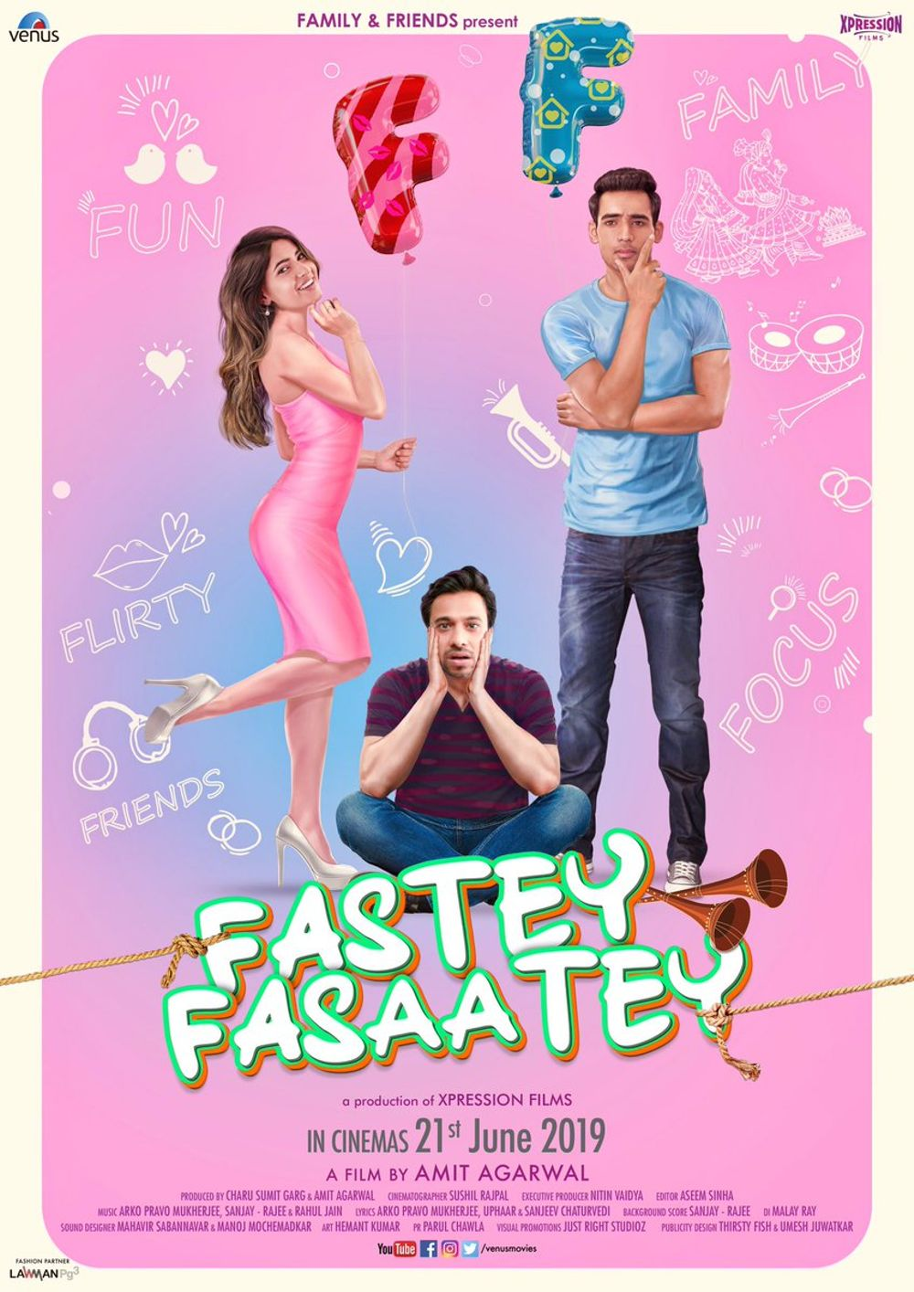 Fastey Fasaatey Movie Review