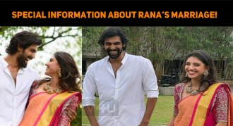 Special Information About Rana's Marriage!