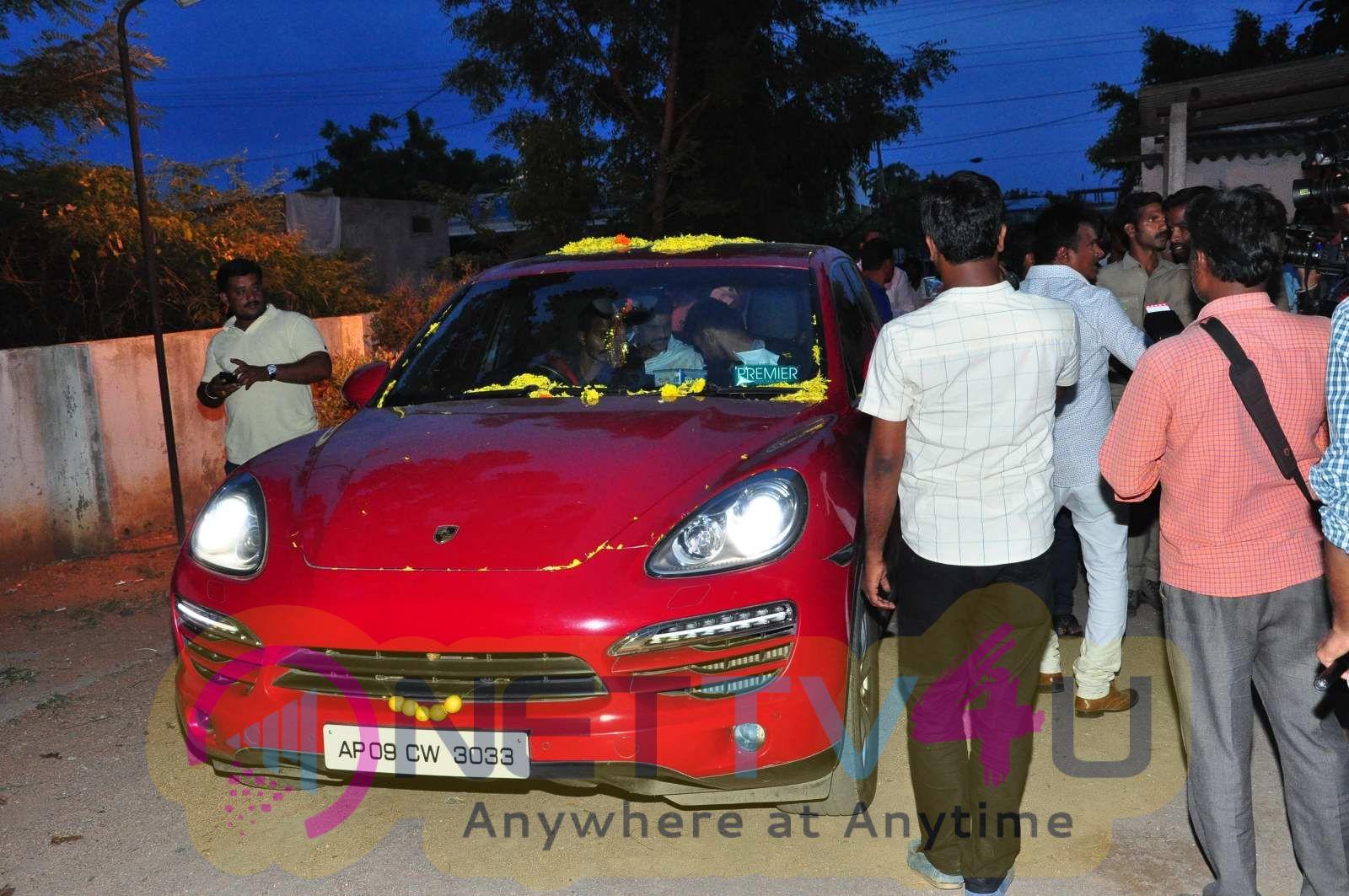 Saakshyam Movie Team Success Tour At Nalgonda Blind School Images Telugu Gallery