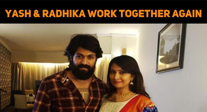 Radhika Pandit And Yash Join Again For Ravi Basrur Movie