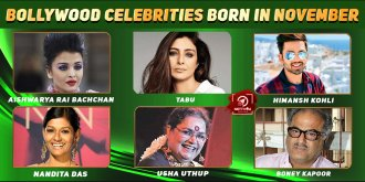 Top Bollywood Celebrities Who Were Born in November