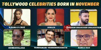 Top Tollywood Celebrities Who Were Born in November