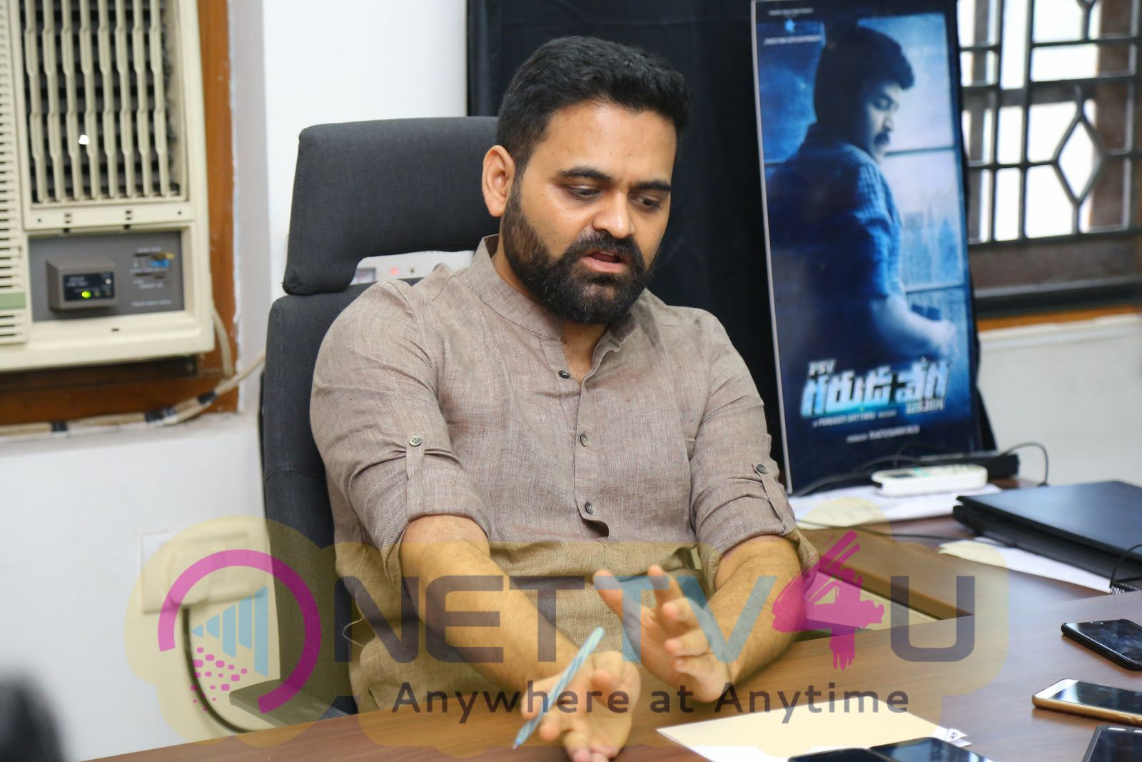 Director Praveen Sattaru Interview Photos Telugu Gallery