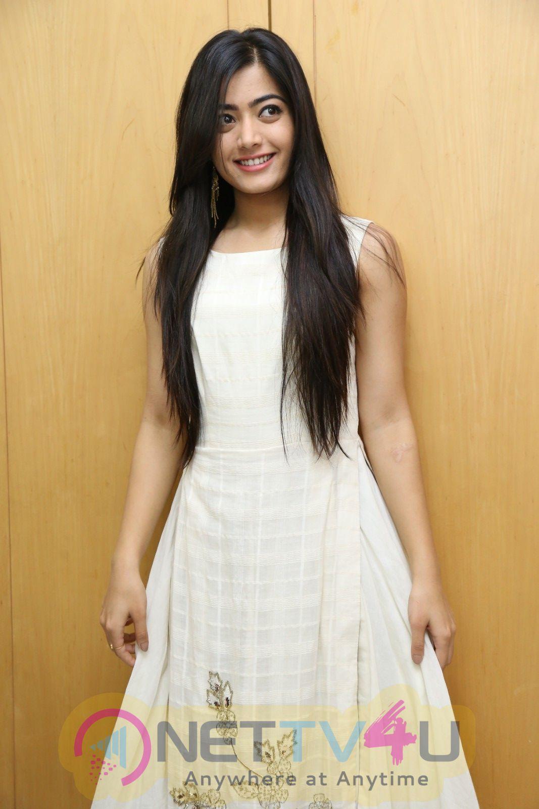 Actress Rashmika Mandanna Attractive Stills Kannada Gallery