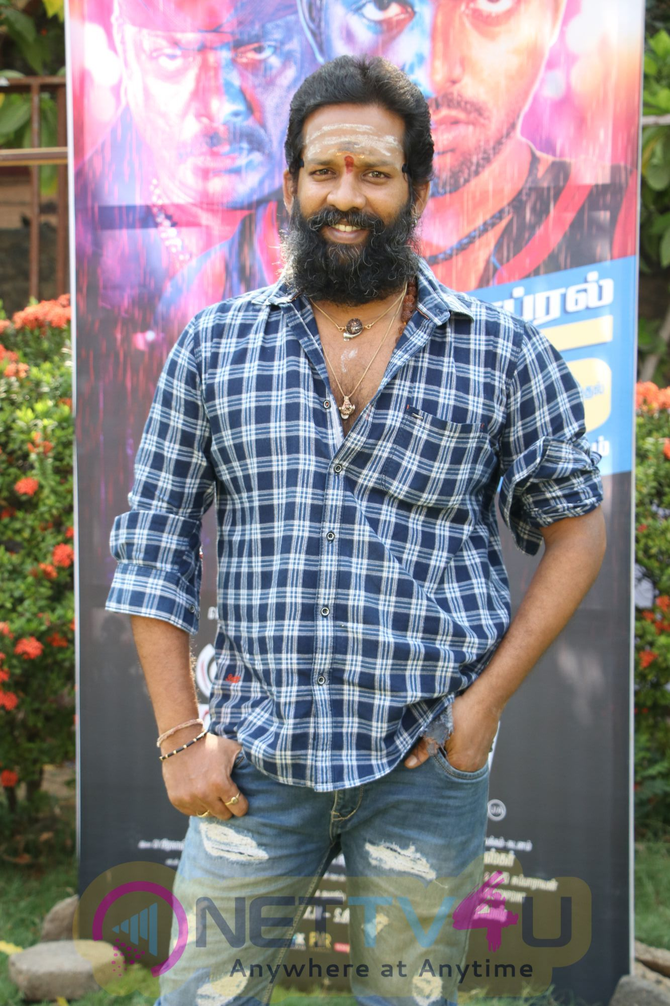 Kuppathu Raja Pre Release Event Pics Tamil Gallery
