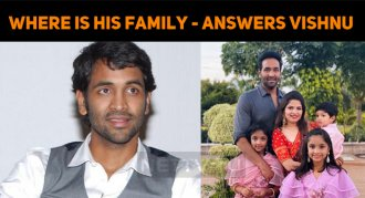 Where Is Vishnu Manchu's Family?