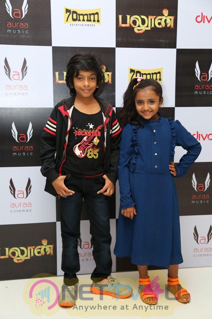 Balloon Movie Celebrity Premiere Show Stills Tamil Gallery
