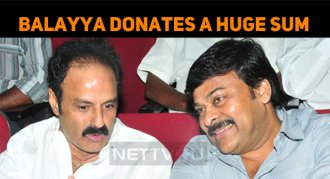 Balayya Donates A Huge Sum For Corona Crisis Ch..