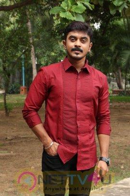 Subramaniapuram Serial Pooja Pics Movie Press Meet Pics