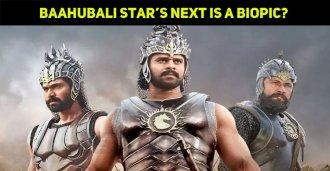 Baahubali Star's Next Is A Biopic?