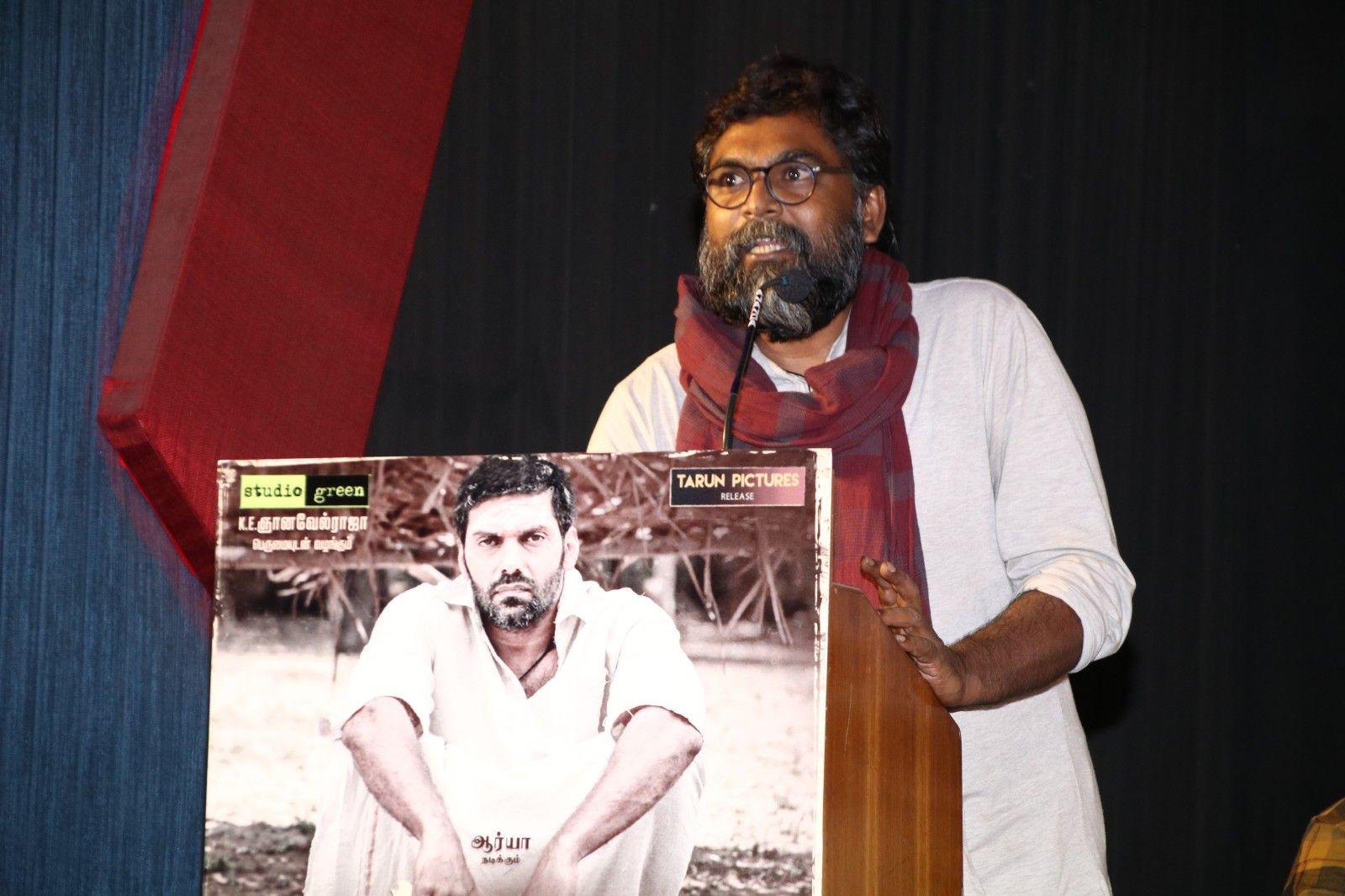 Magamuni Movie Press Meet Images Tamil Gallery