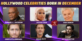 Top Hollywood Celebrities Who Were Born in December