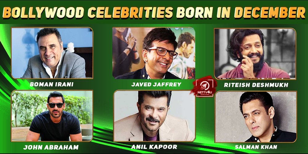 Top Bollywood Celebrities Who Were Born in December