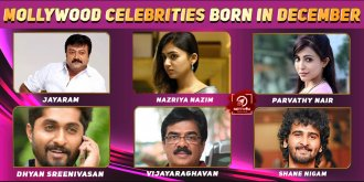 Top Mollywood Celebrities Who Were Born in December