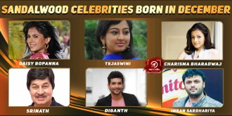 Top Sandalwood Celebrities Who Were Born in December