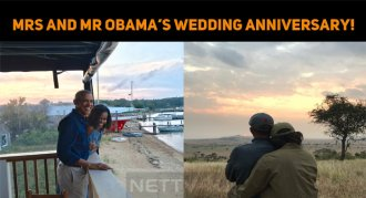 Mrs And Mr Obama Celebrate Their 27th Wedding A..