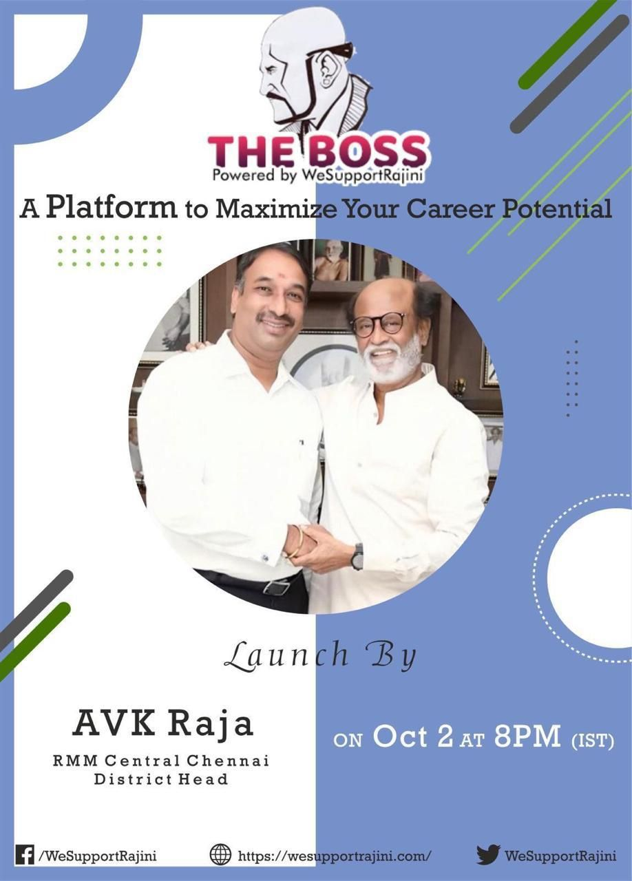 THE BOSS - Powered By WeSupportRajini Tamil Gallery