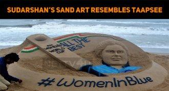 Sand Artist Sudarshan's Sand Art Has Taapsee's ..