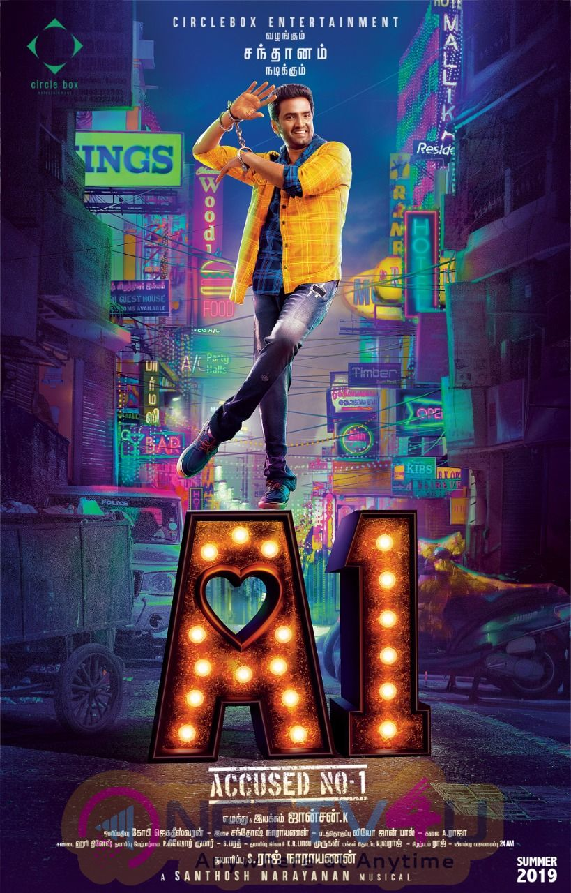 A1 Movie Posters Tamil Gallery