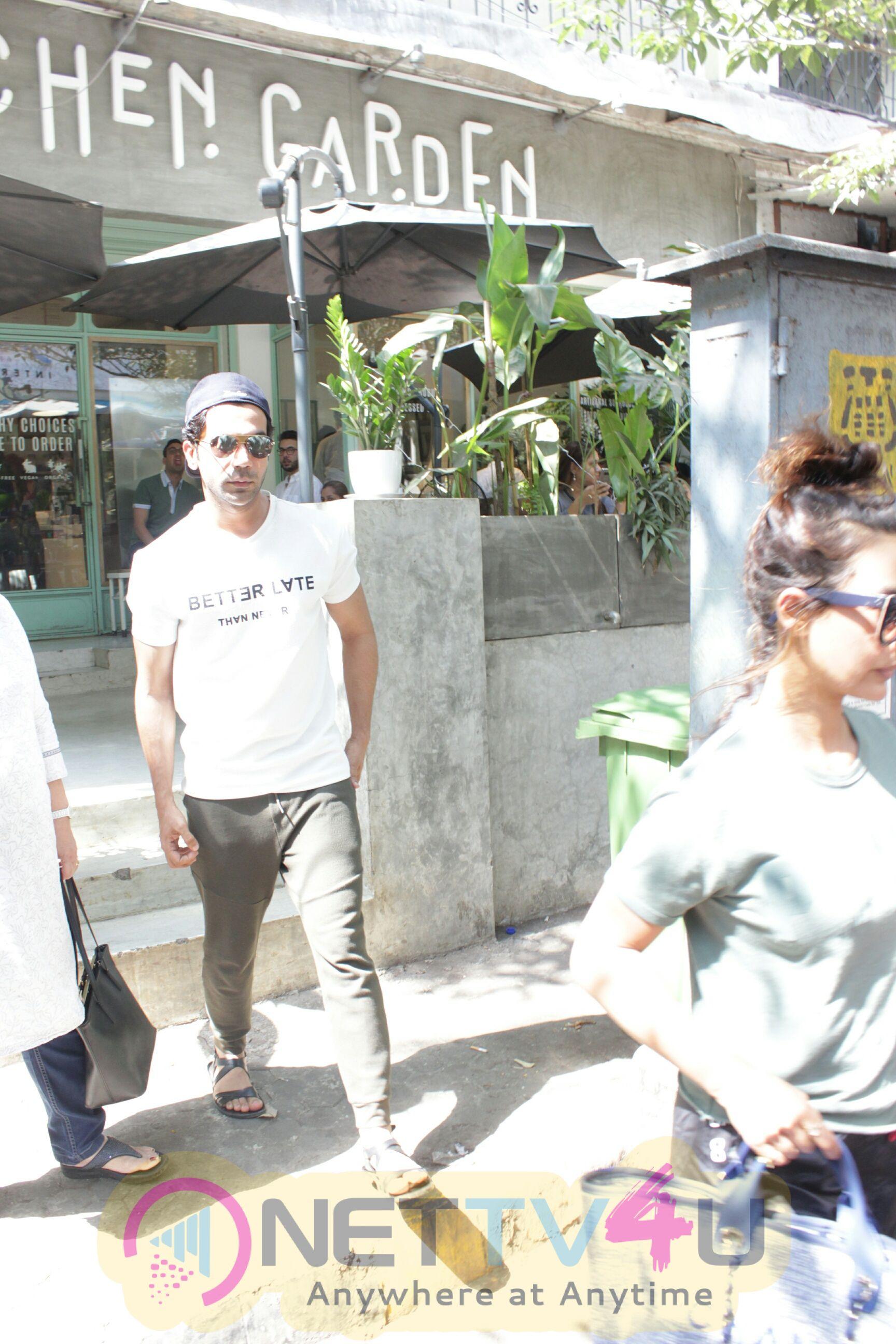 Rajkummar Rao And Patralekha Came To The Kitchen Garden Hindi Gallery