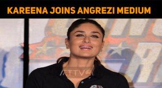 Kareena Joins Angrezi Medium Sets From 15th May..