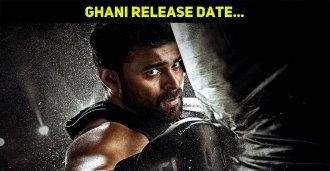 Release Date Update On Varun Tej's Ghani!