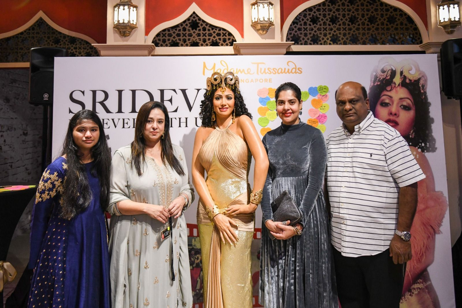 Actress Sridevi's First And Only Unique Wax Figure In Madame Tussauds Singapore Pics Tamil Gallery