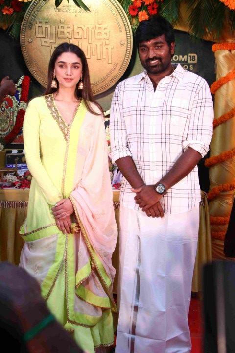 Tughlaq Darbar Movie Pooja Photos Tamil Gallery