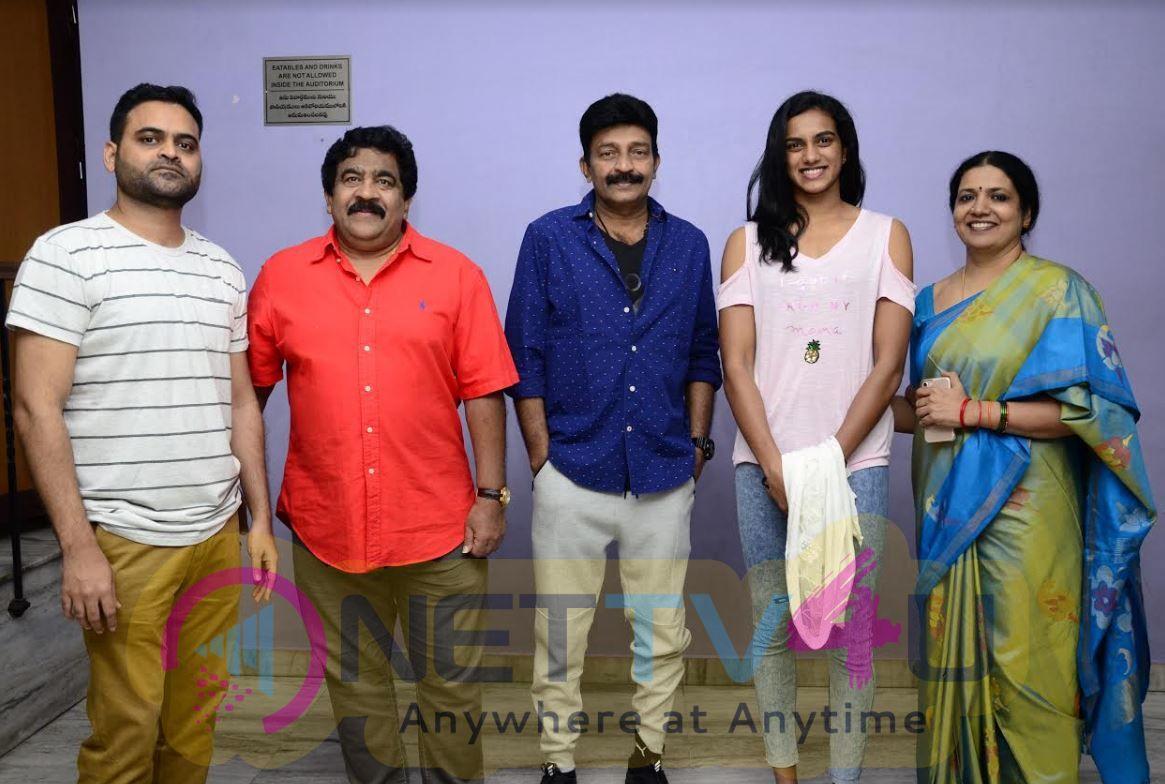 PV Sindhu Appreciates Praveen Sattaru For Rajasekhar Movie PSV Garuda Vega Pic Telugu Gallery