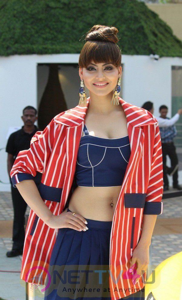 Pretty Pics Of Favourite Hindi Actress At Urvashi Rautela At LFW Summer 2017 Hindi Gallery