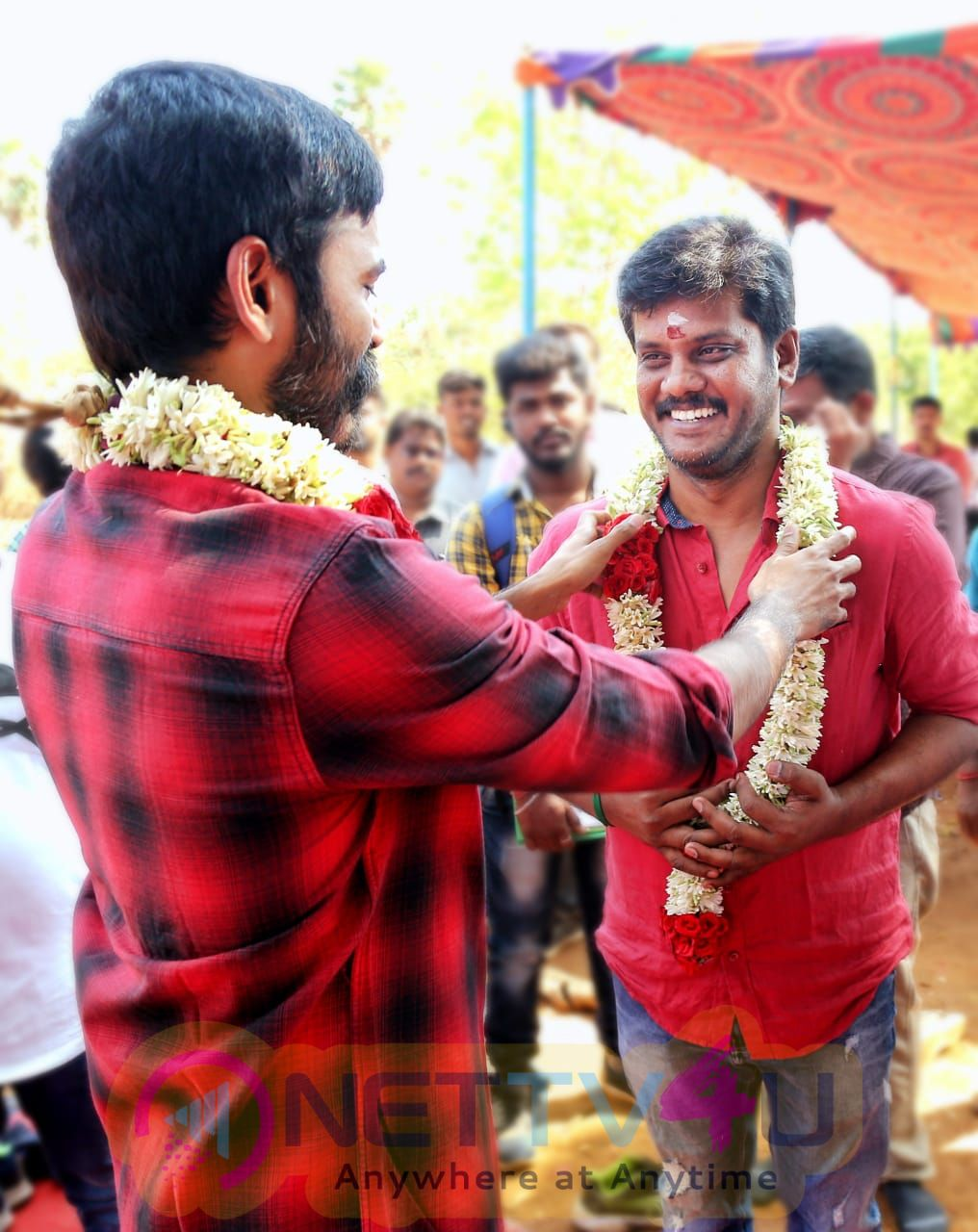 Sathya Jyothi Films Production No 34 Shooting Starts With A Pooja Pics Tamil Gallery