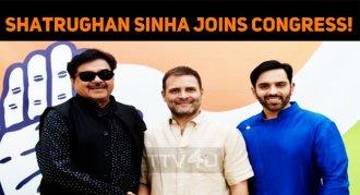 Shatrughan Sinha Joins Congress!