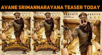 Rakshit To Release Avane Srimannarayana Teaser ..