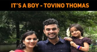 Tovino Thomas Becomes A Father Again!