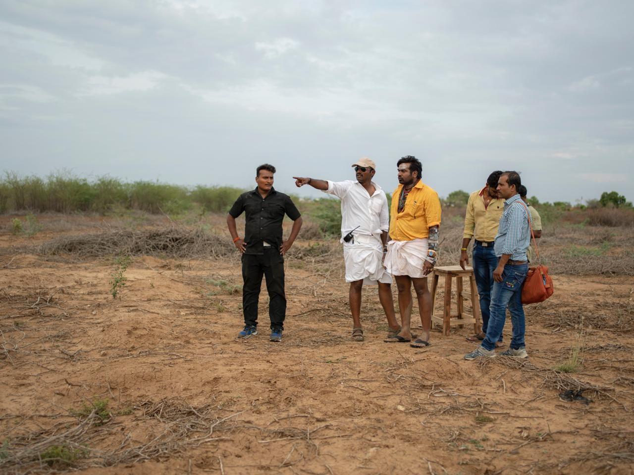 Kadaisi Vivasayi Movie Working Stills Tamil Gallery