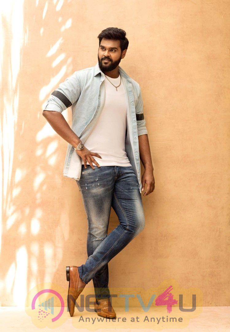Actor Shanmuga Pandian New Looks  Tamil Gallery