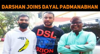 Darshan In Dayal Padmanabhan's Next!