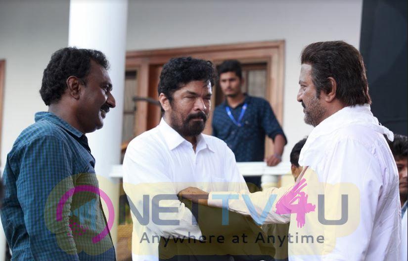 Gayatri Movie Working Stills Telugu Gallery