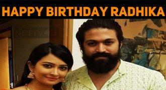 Radhika Pandit Celebrates Her Birthday, Today!