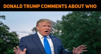 Donald Trump Comments About WHO's Recommendatio..
