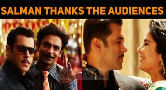 Salman Thanks The Audiences For Making Bharat, ..